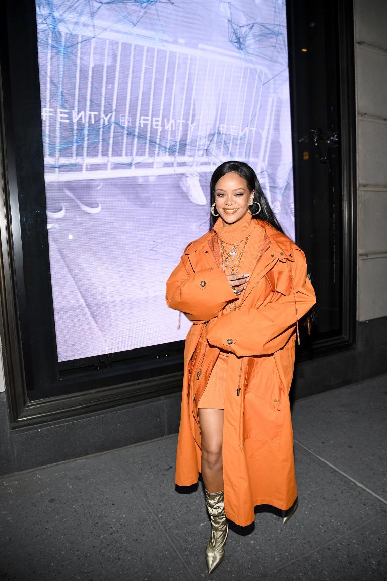 3 rihanna new york fashion week