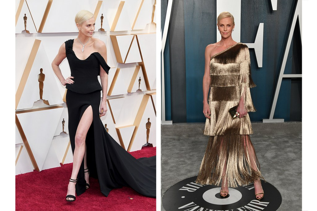 6 Oscar afterparty look Charlize theron