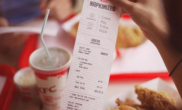 KFC kornyezetbarat nyugta