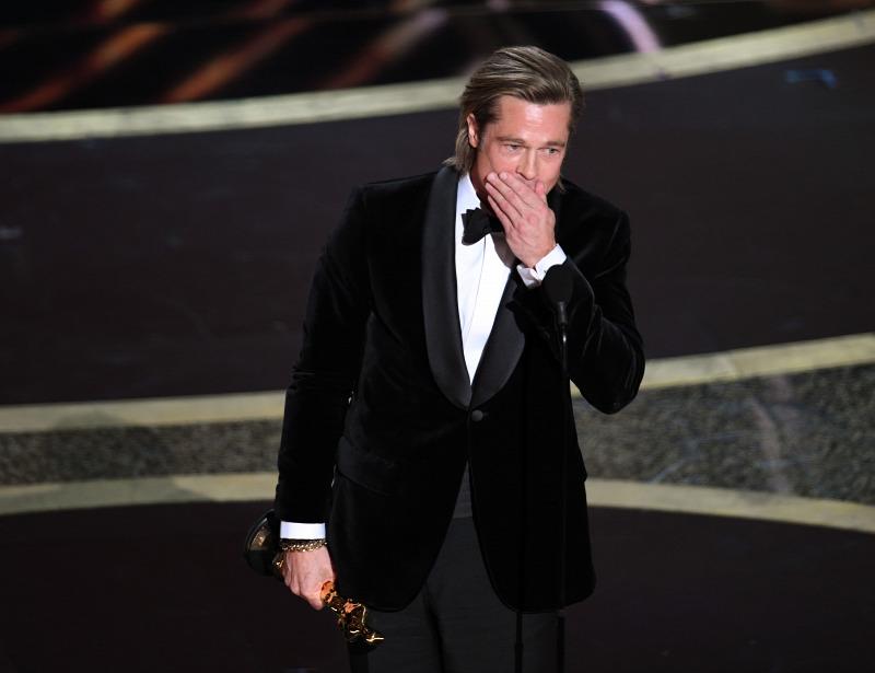 Brad Pitt Oscar Nyertesek 2020 Volt Egyszer Egy Hollywood