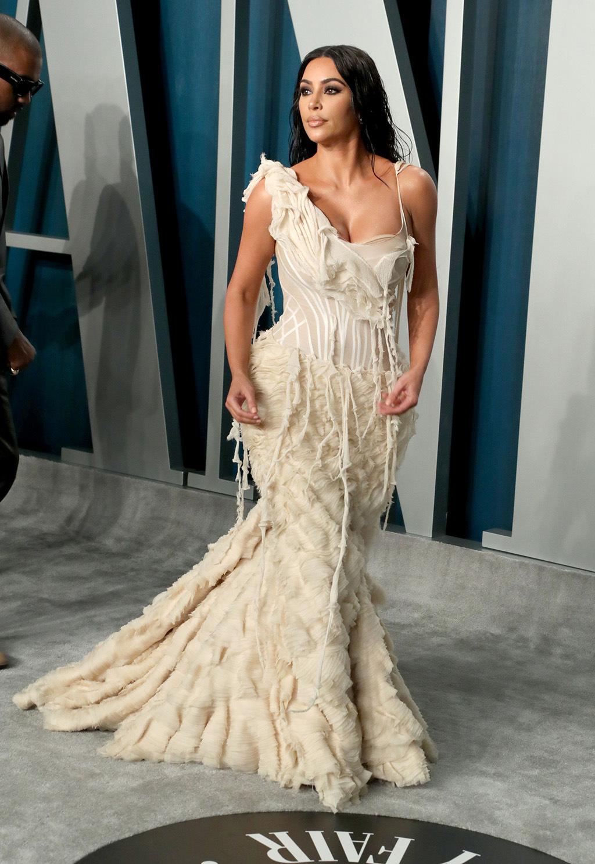 kim kardashian oscar gala 2020 vanity fair