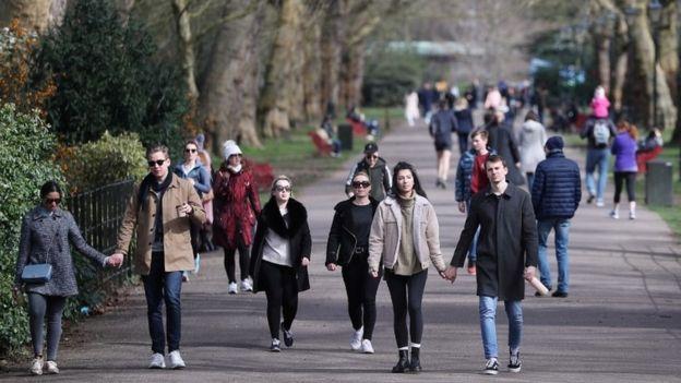london koronavirus battersea park