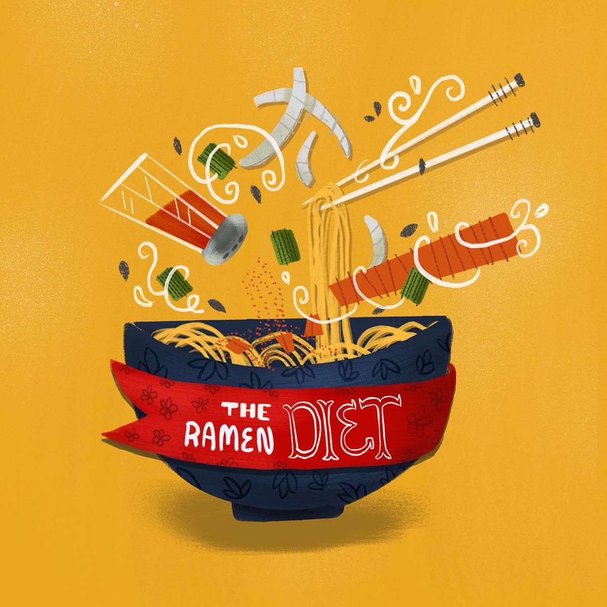 ramen dieta