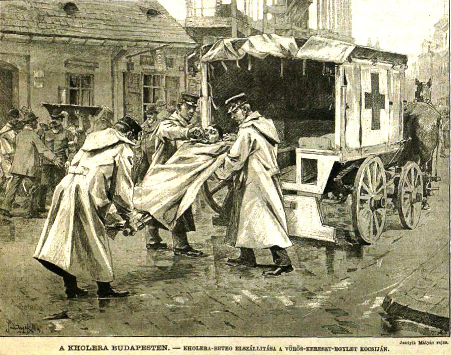 Kolera betegszállítás