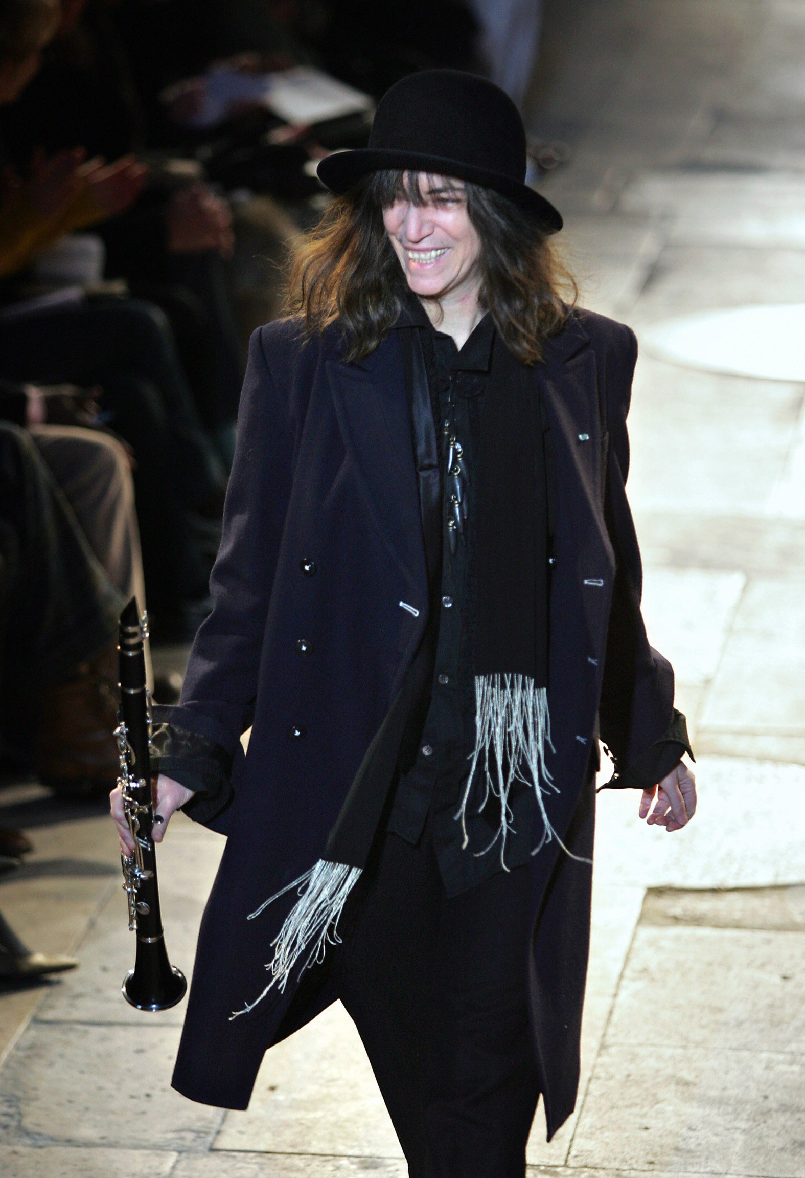 patti smith divatbemutato