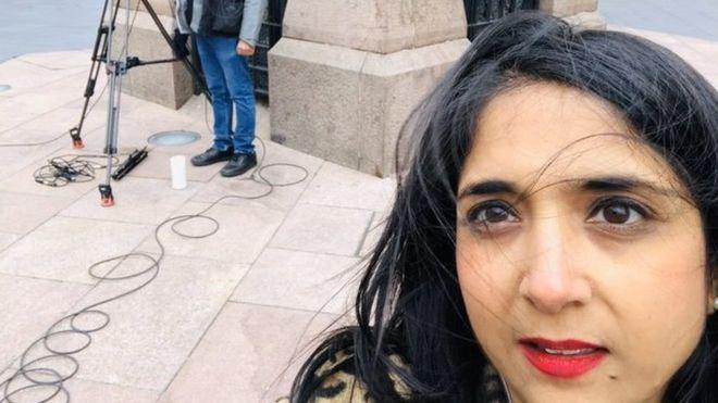 bbc riporter rasszista tamadas