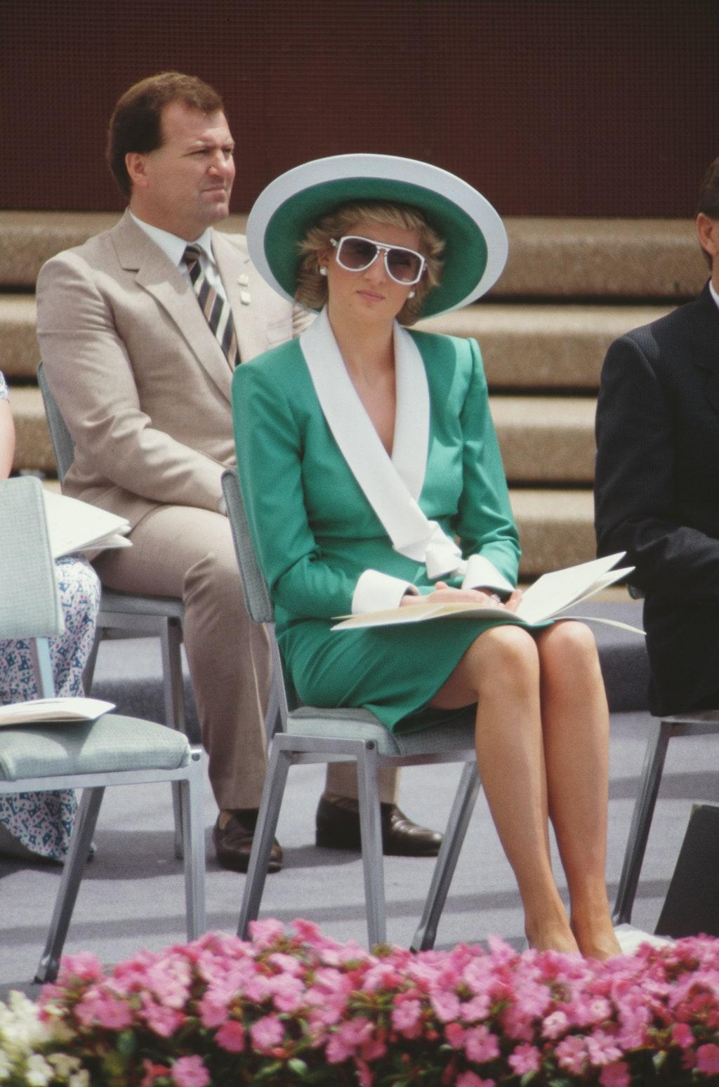 diana zöld ruha ausztralia