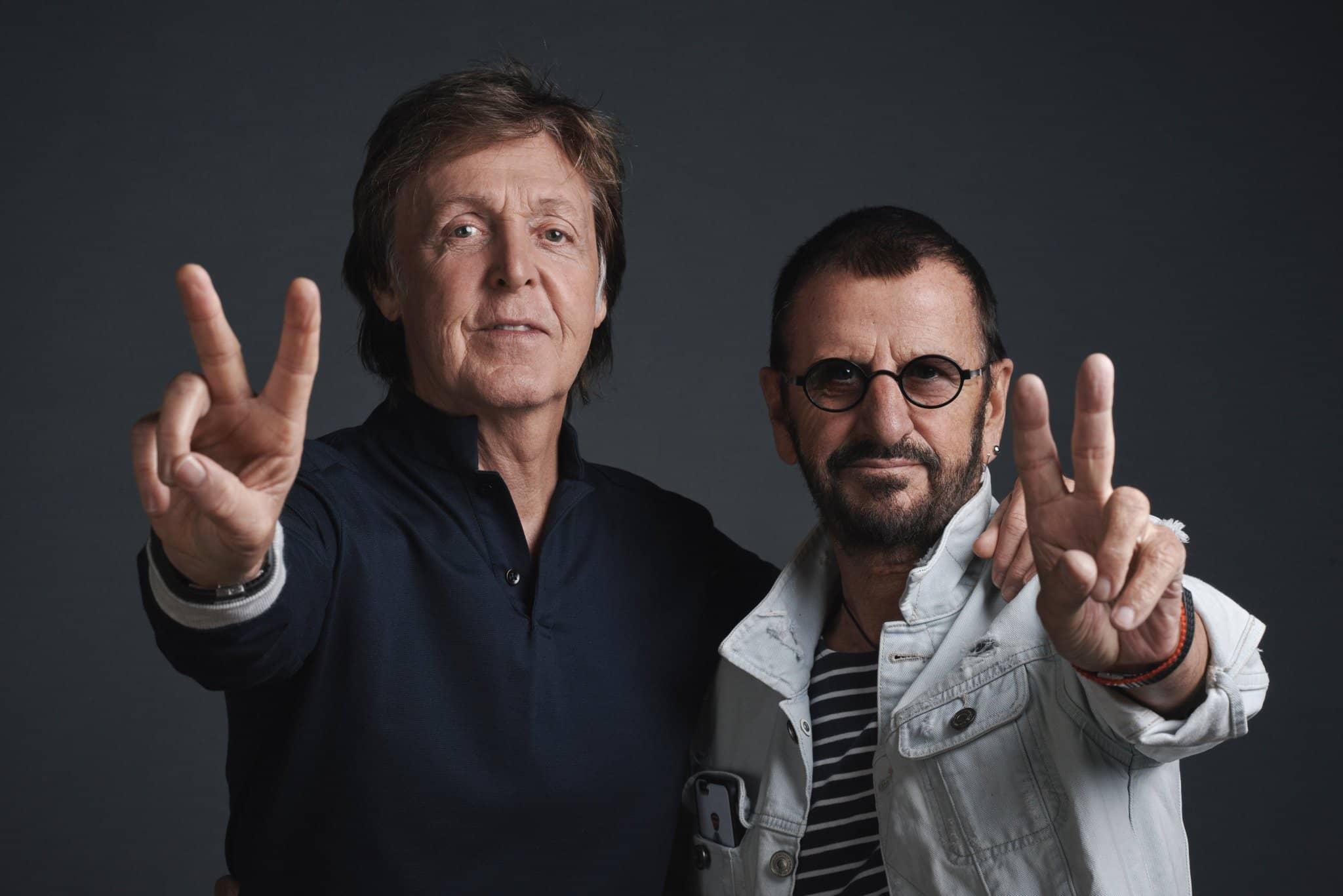 paul mccartney ringo starr angels in disguise the beatles