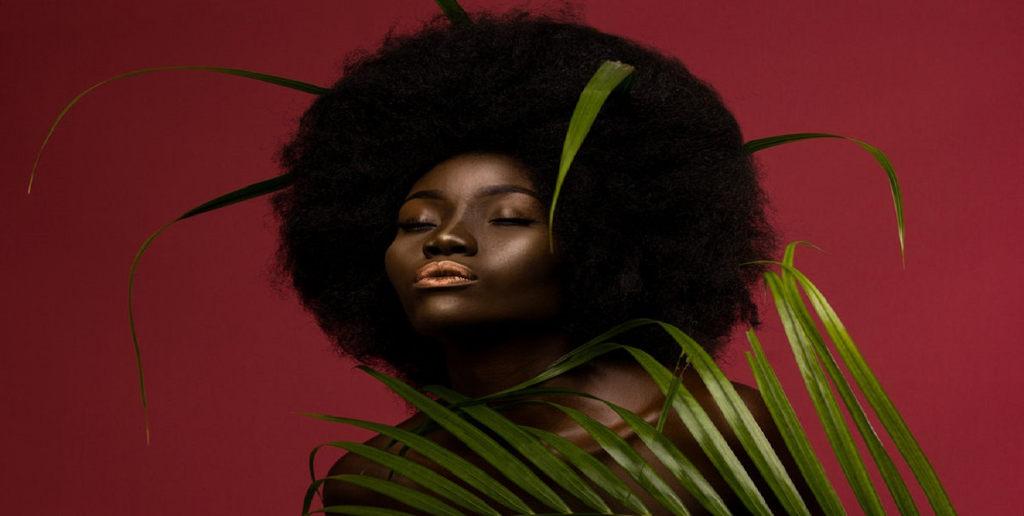 afro amerika modell