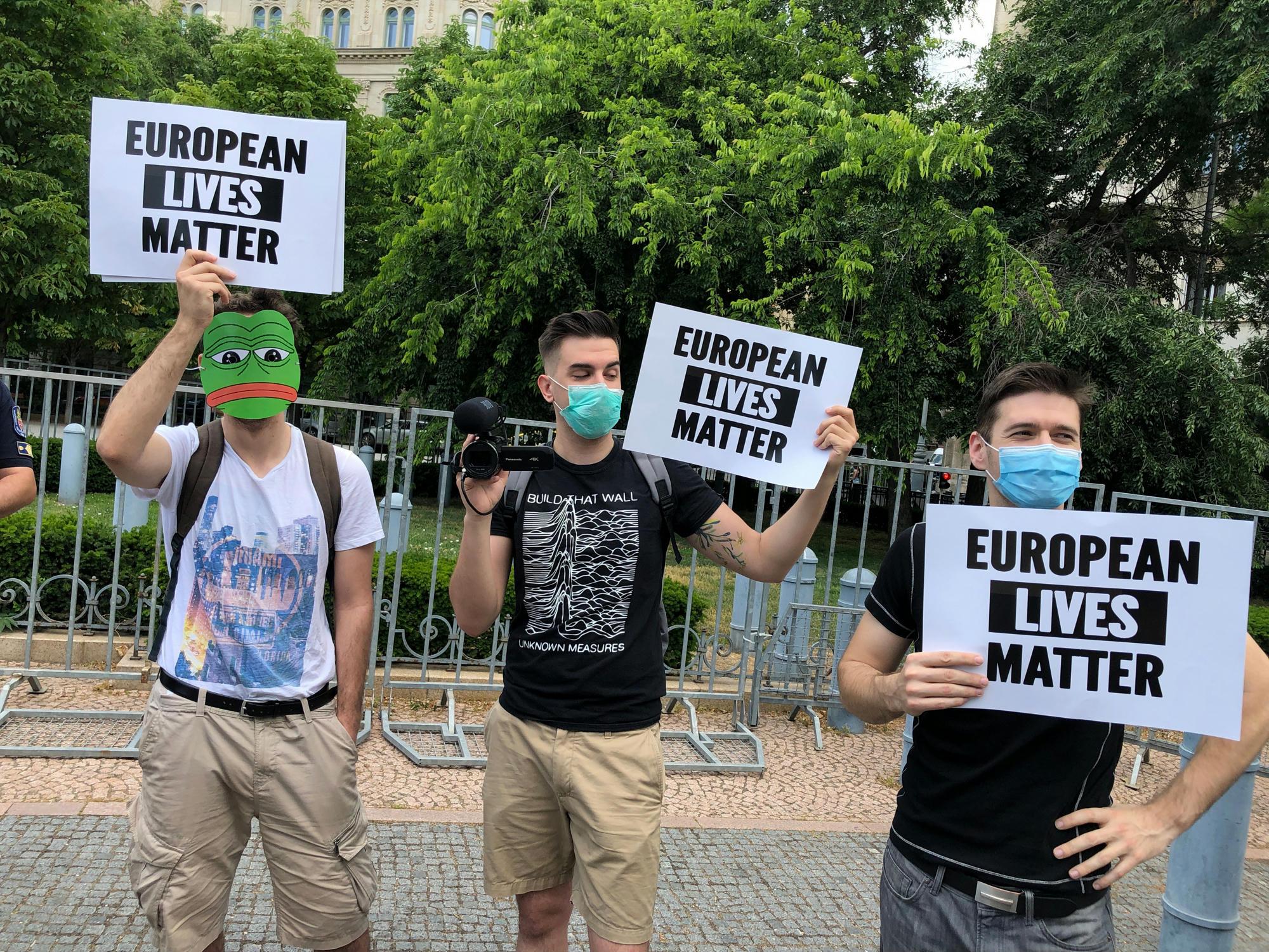 budapesti tuntetes black lives matter george floyd identitas generacioi