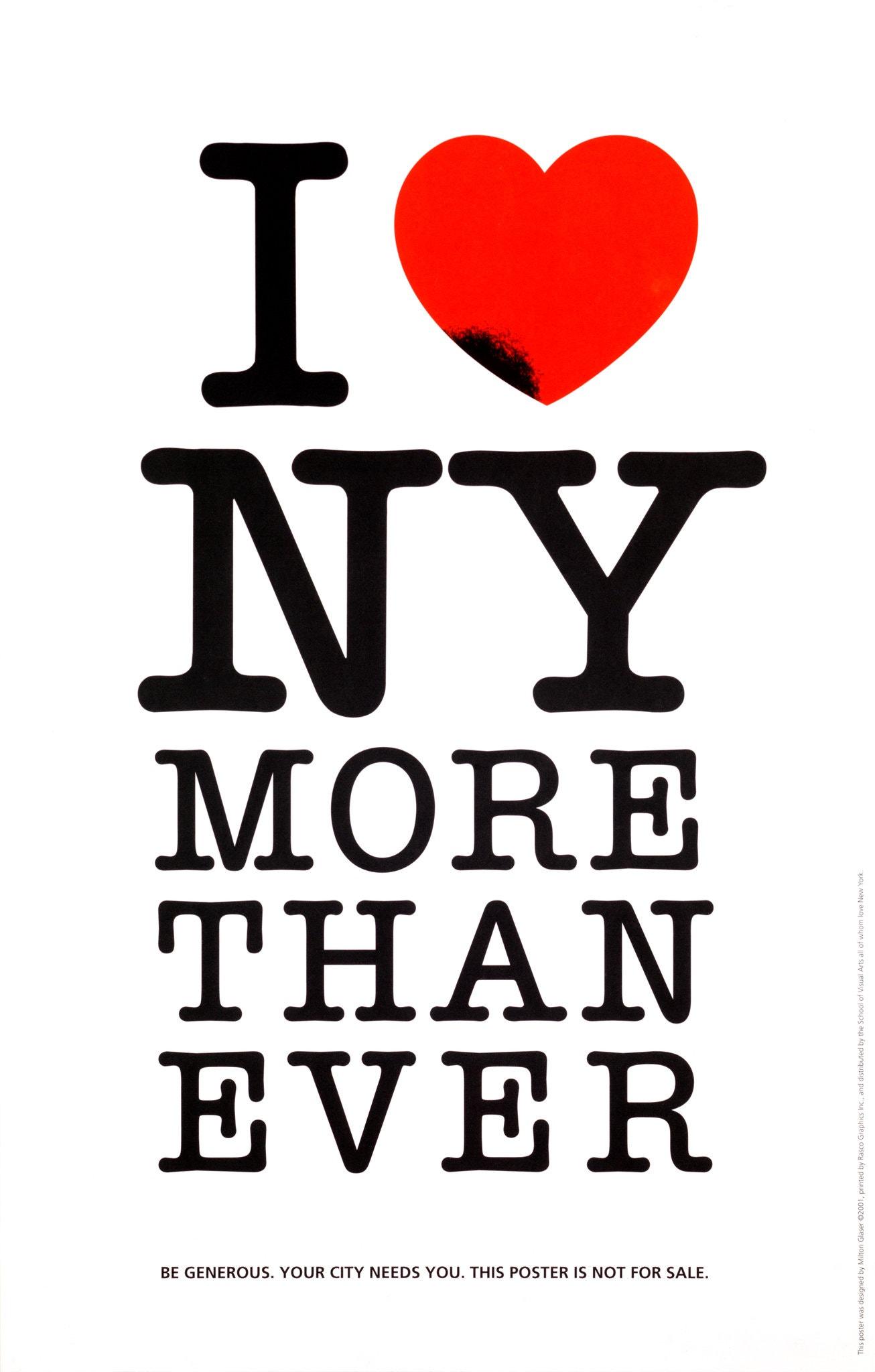 i love new york more than ever milton glaser