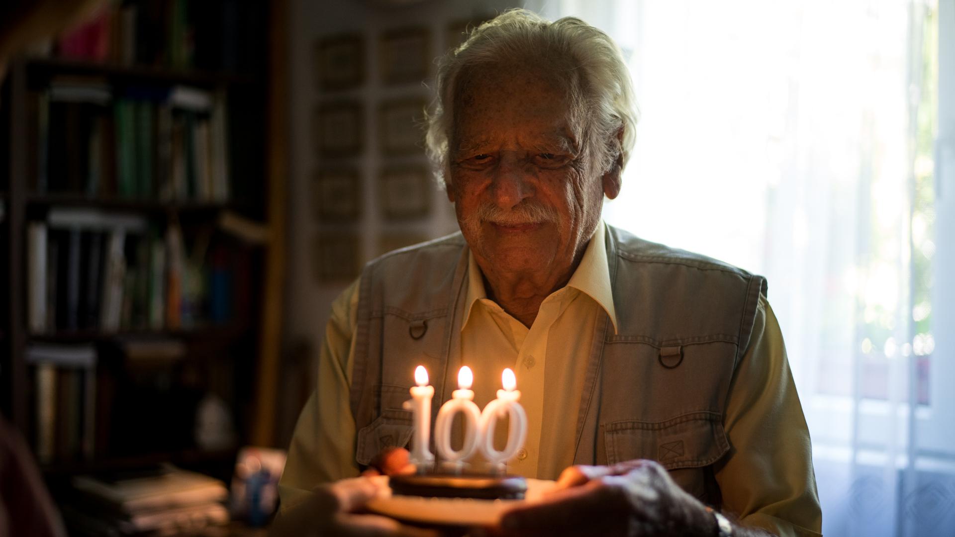 Meghalt Bálint gazda 100 éves korában, aki túlélte a holokausztot is