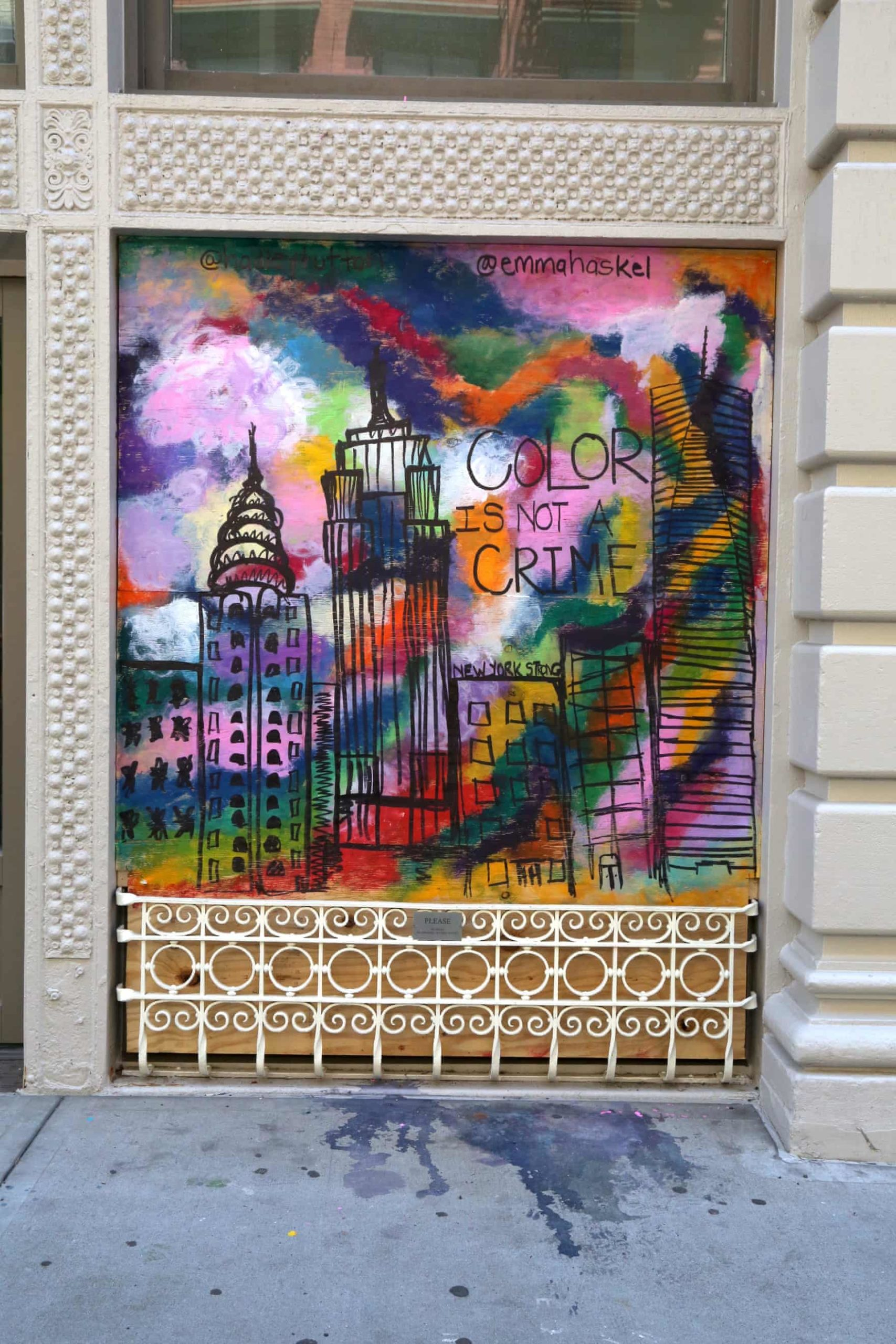 New York Graffiti Blacklivesmatter Scaled