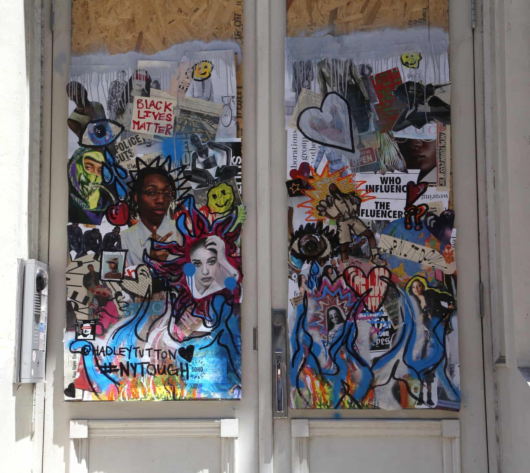 New York Graffiti Blacklivesmatter14