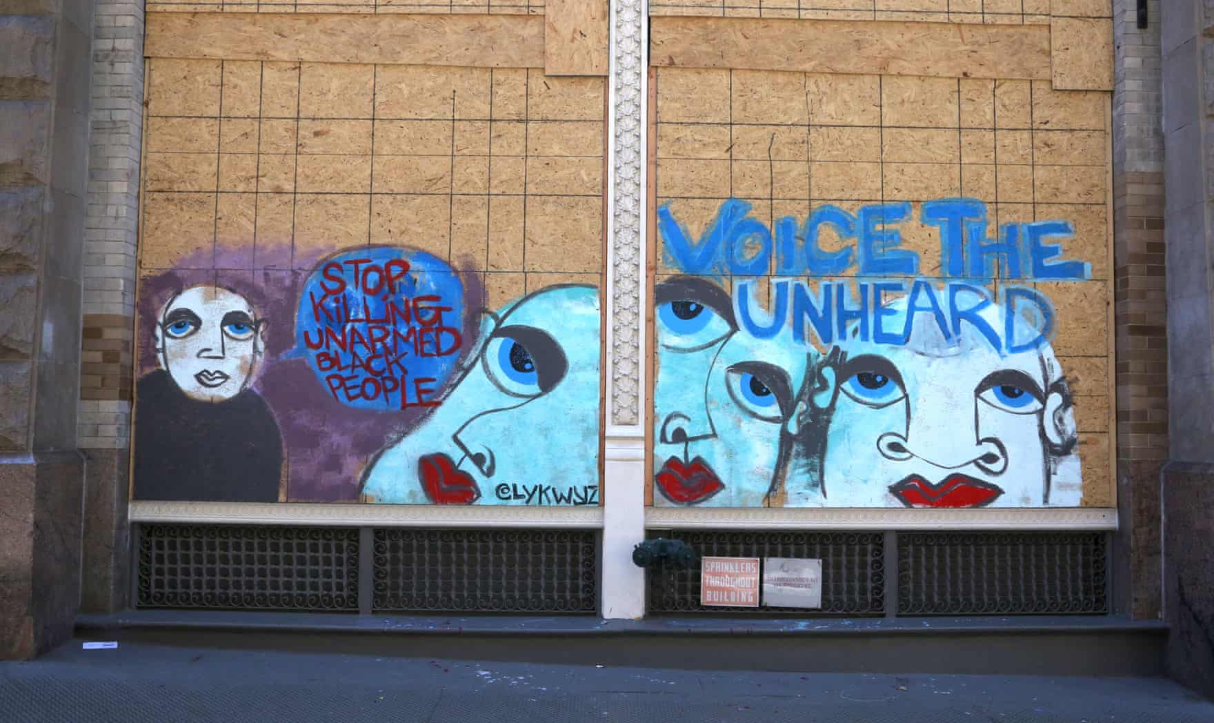 New York Graffiti Blacklivesmatter16