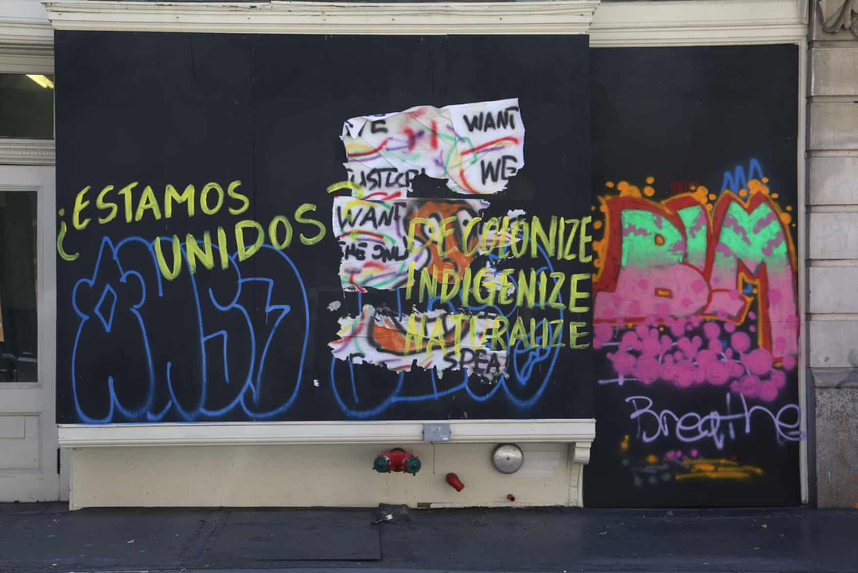 New York Graffiti Blacklivesmatter4