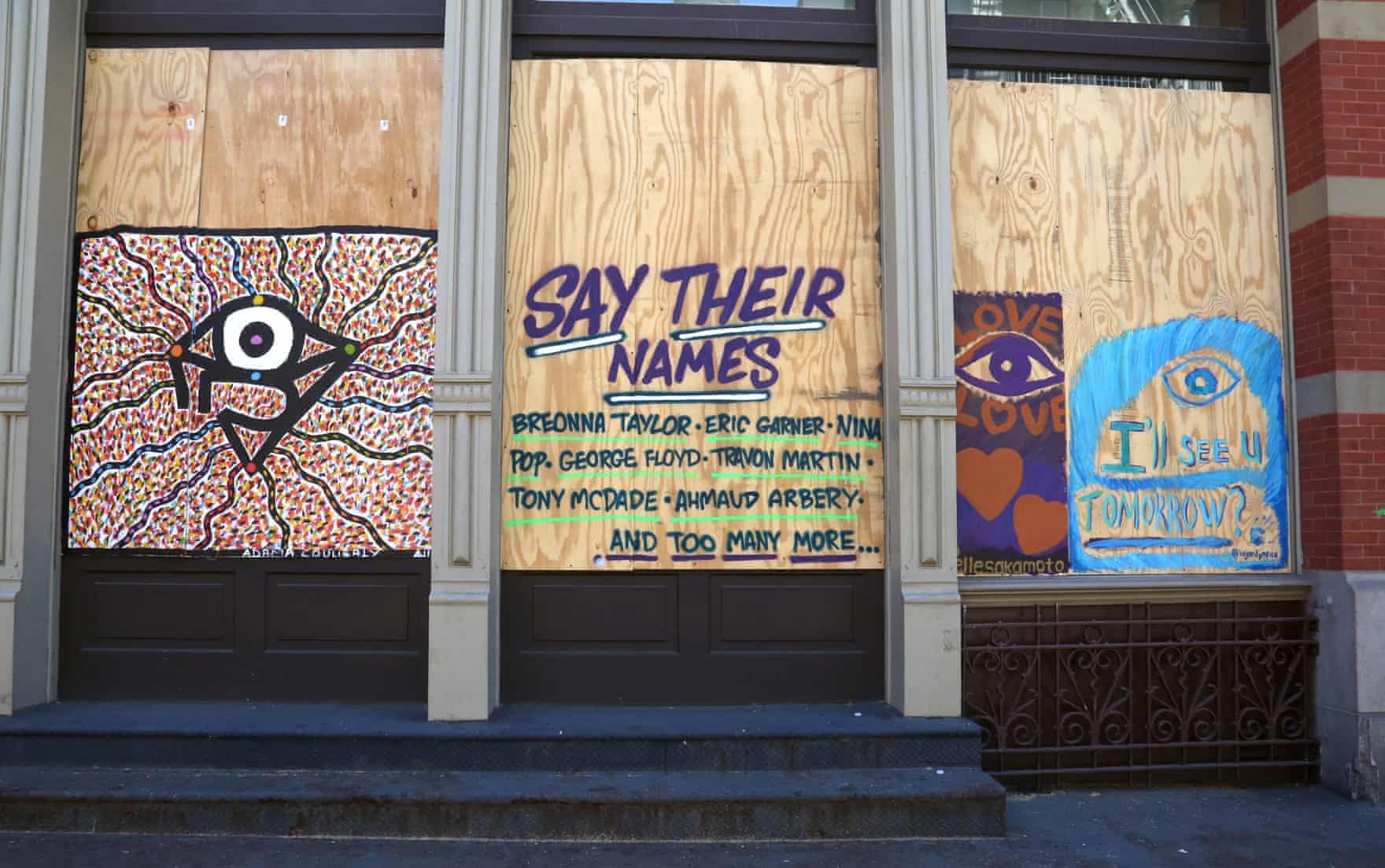 New York Graffiti Blacklivesmatter5
