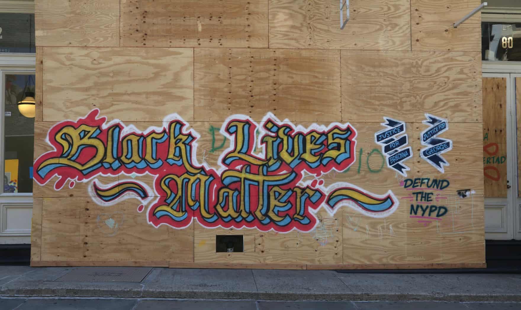 New York Graffiti Blacklivesmatter6
