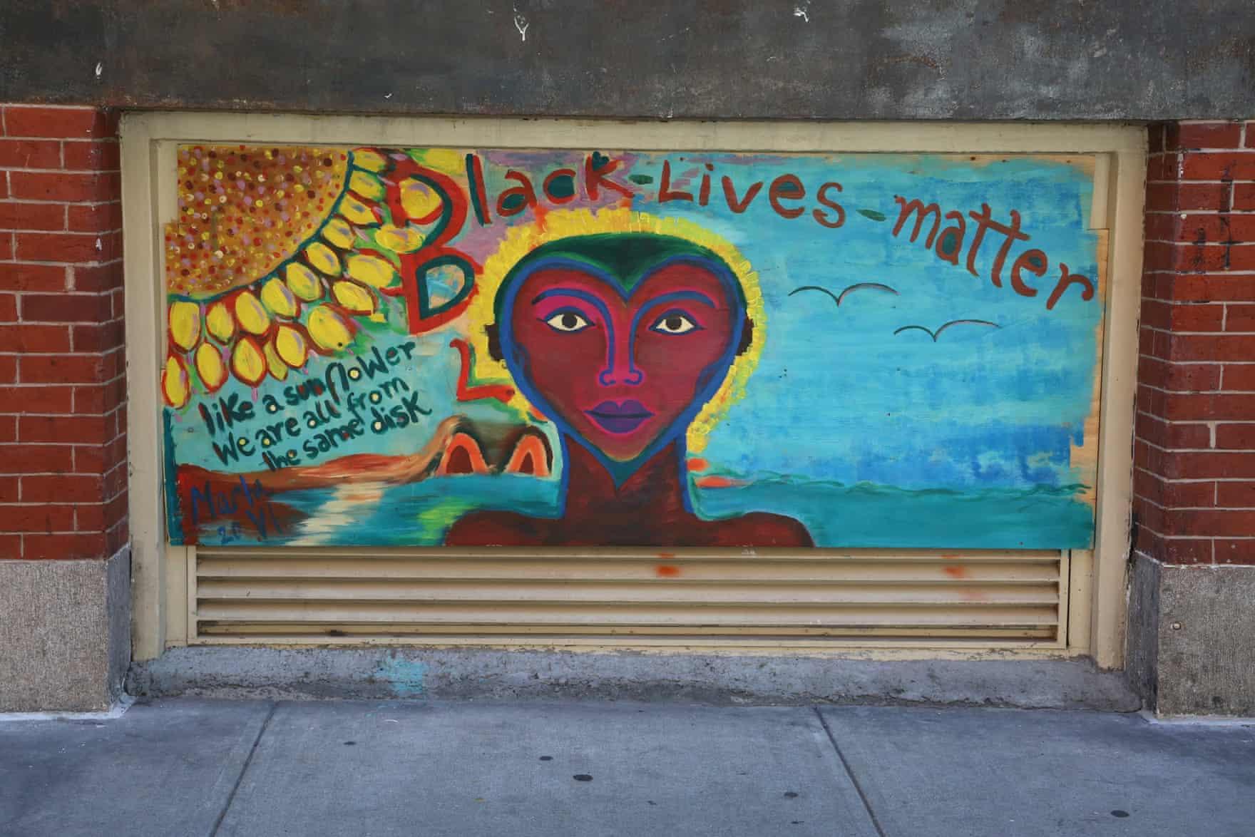New York Graffiti Blacklivesmatter8