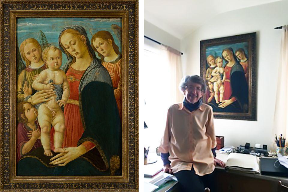 Durva történet alakult ki, ahogy visszaszerezték a nácik által ellopott festményt