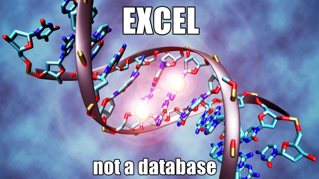 excel genetics error