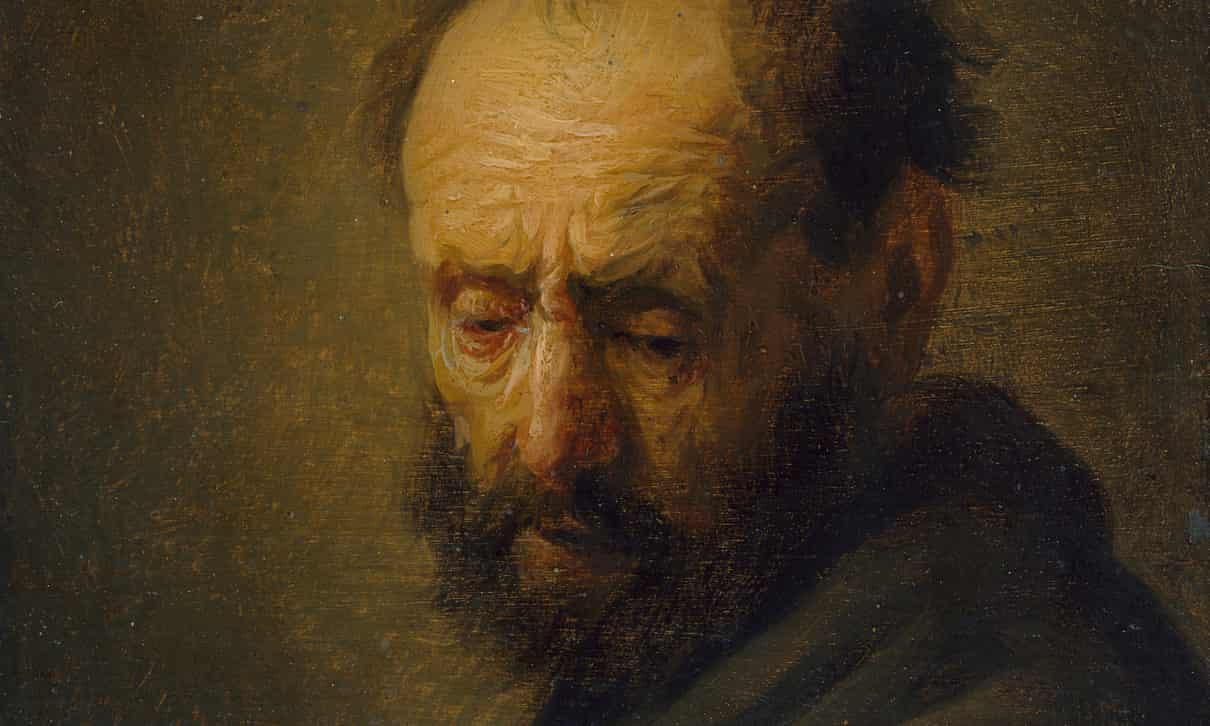 Rembrandt Öregember Portre