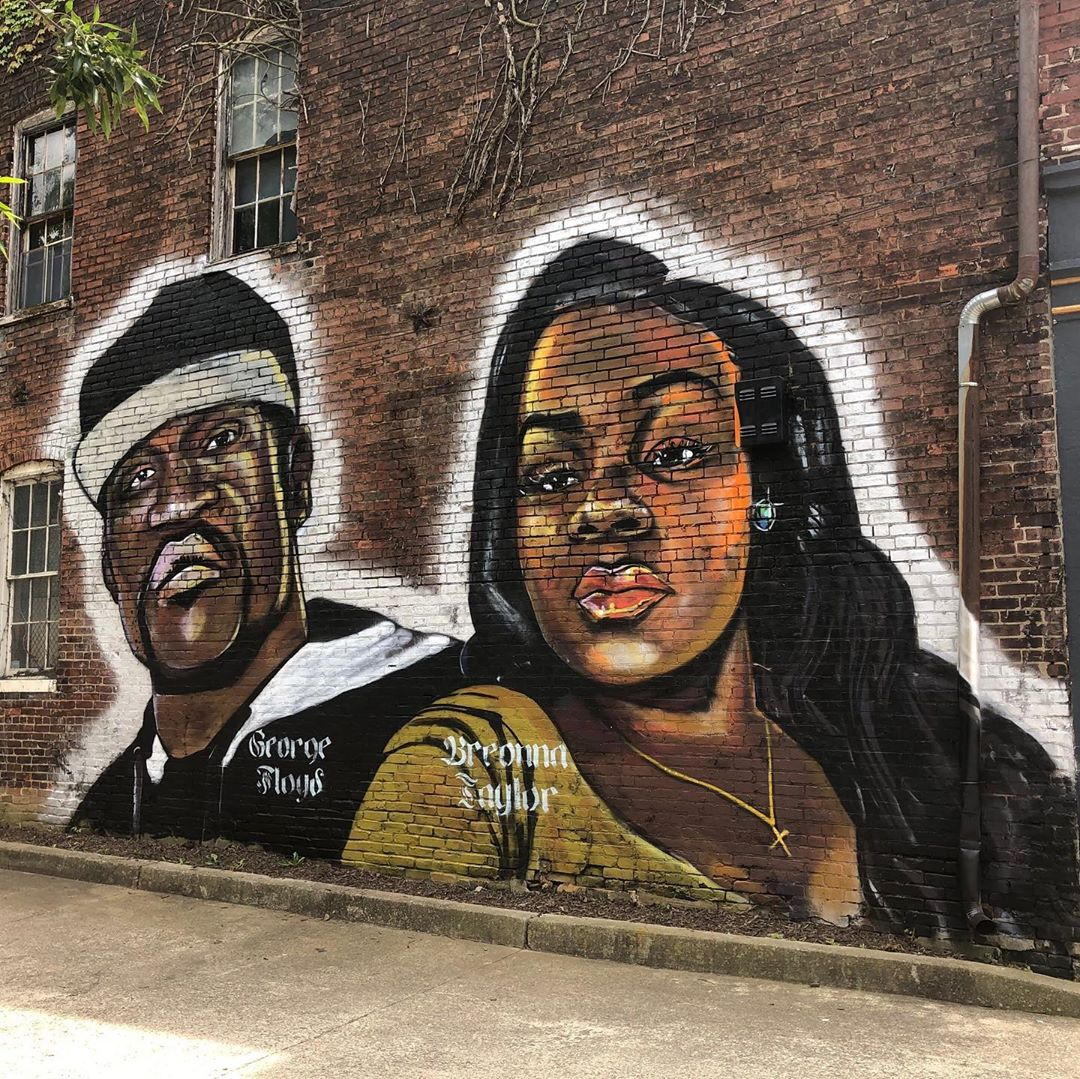 BLM street art projekt 1