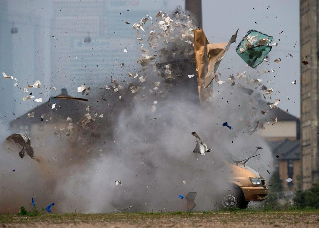 big bang bank job robbantas