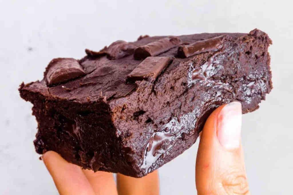 cukormentes brownie