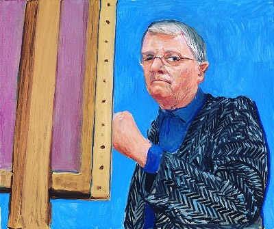 david hockney Self Portrait In Tweed Jacket