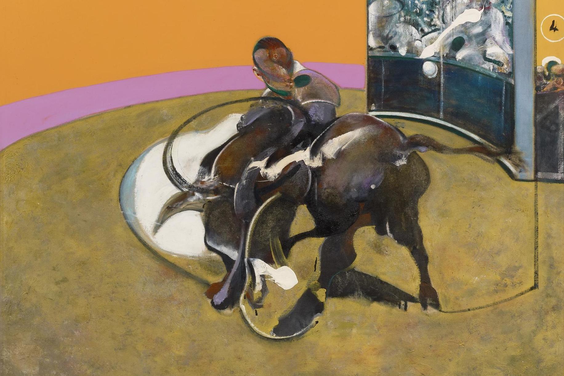 francis bacon festmenyek study of bull kiallitas2