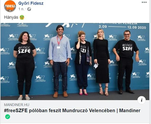 gyori fidesz hanyas mundruczo kornel freeszfe szinmuveszeti egyetem szfe pieces of a woman velencei filmfesztival