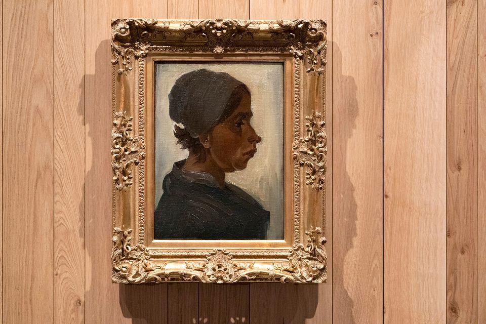 head of a woman vincent van gogh