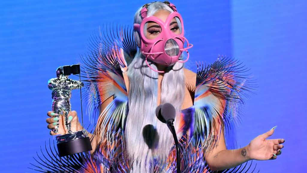 lady gaga maszk mtv video music award