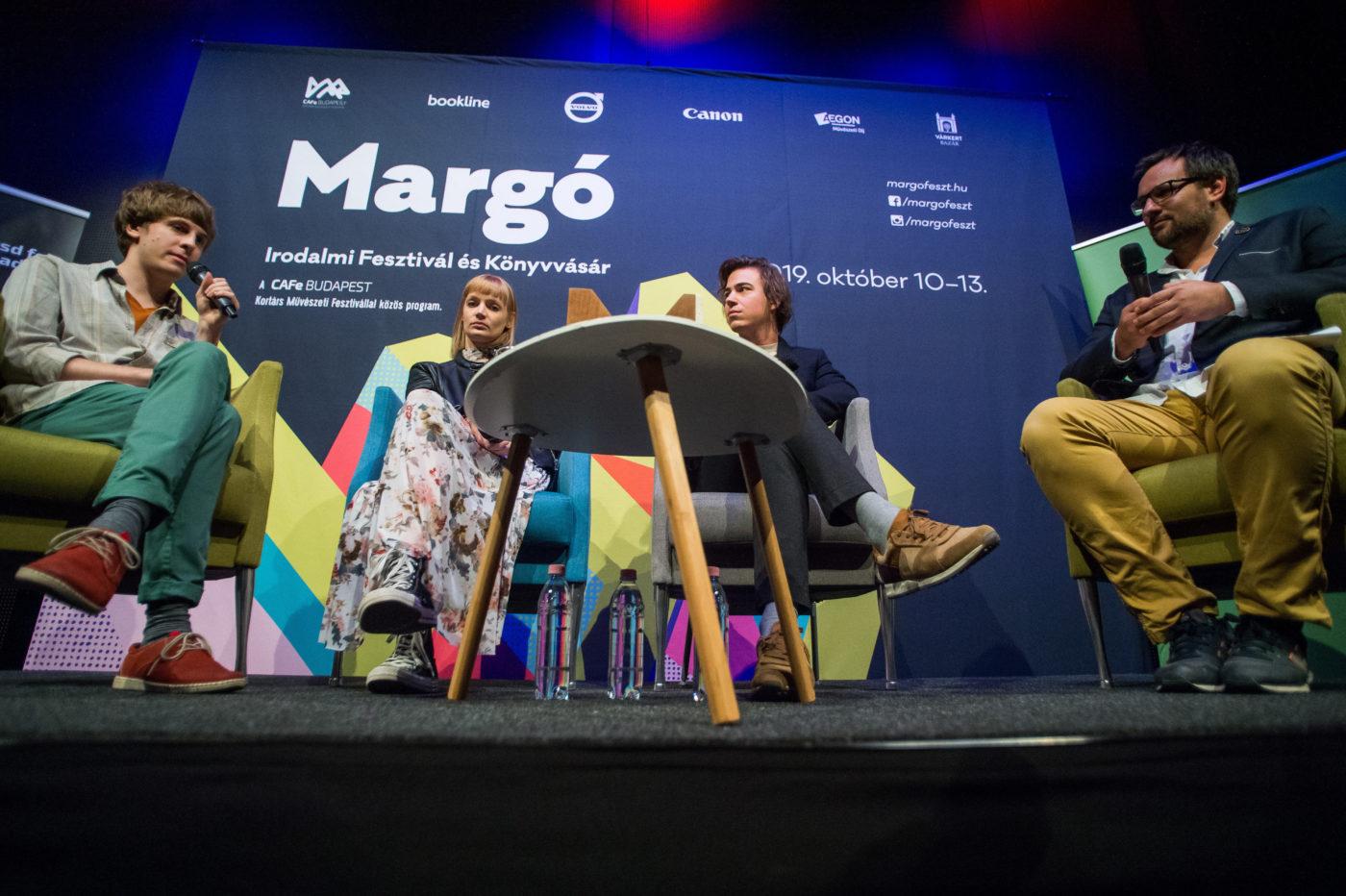 margo irodalmi fesztival 2020 oktober fellepok