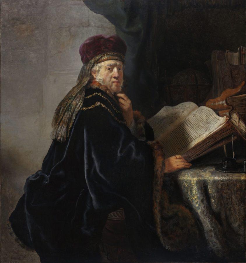 rembrandt egy ember portreja festmeny