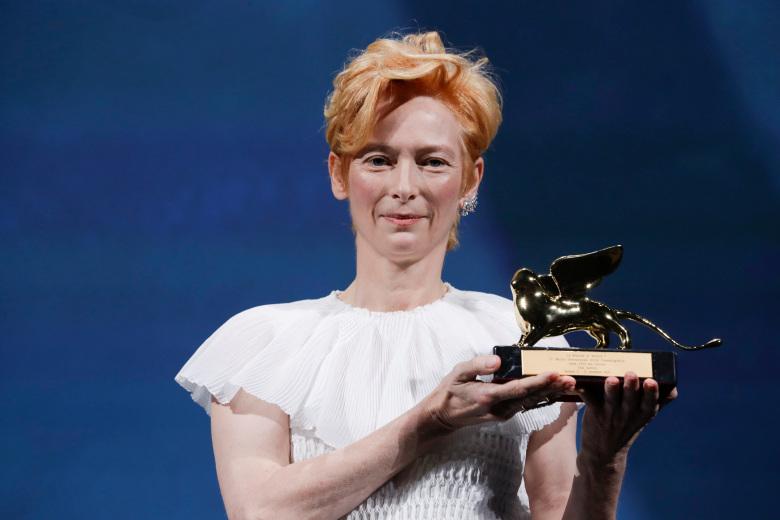 Tilda Swinton Arany Oroszlan Velencei Filmfesztival 2020