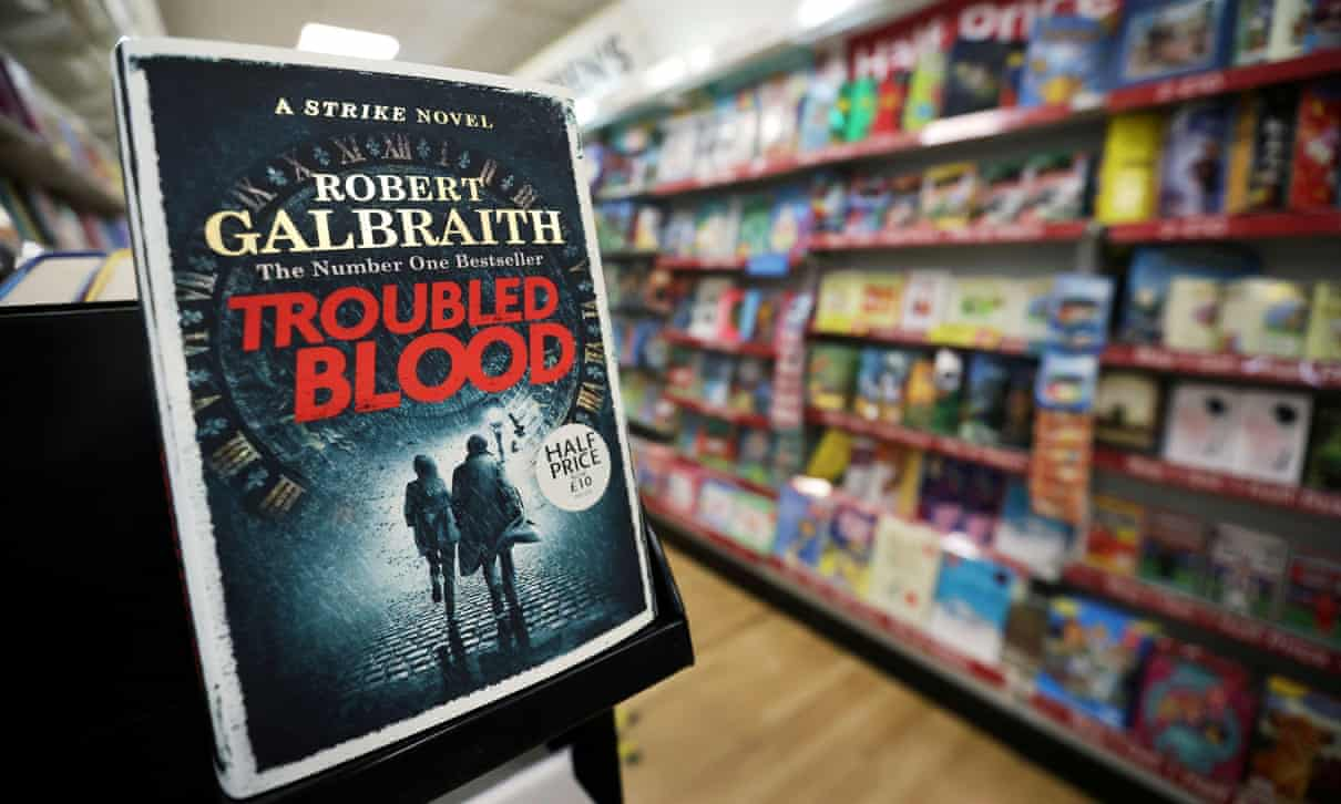 troubled blood j k rowling kritika
