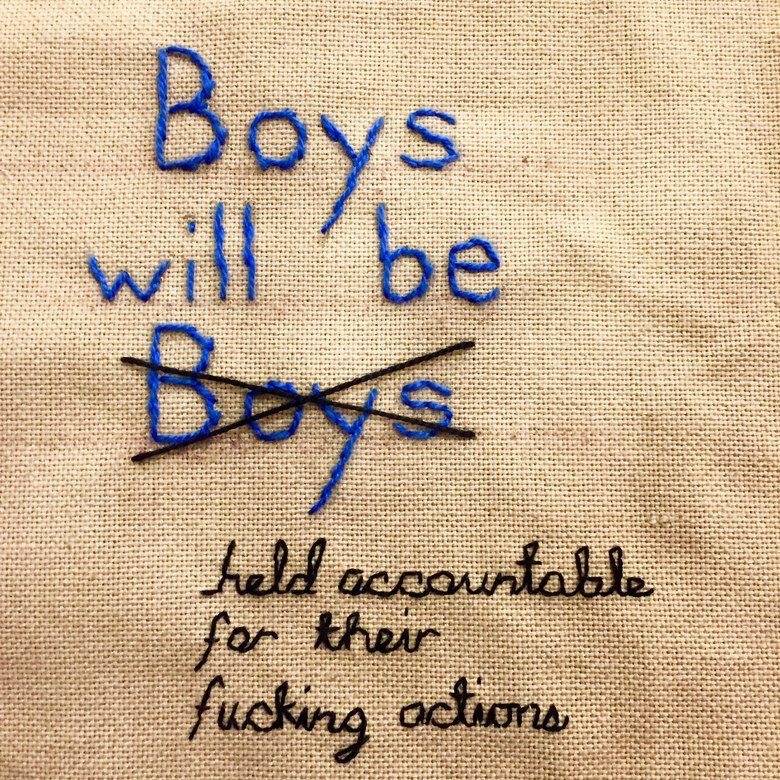 00 story image boys will be boys embroidery shannon downey