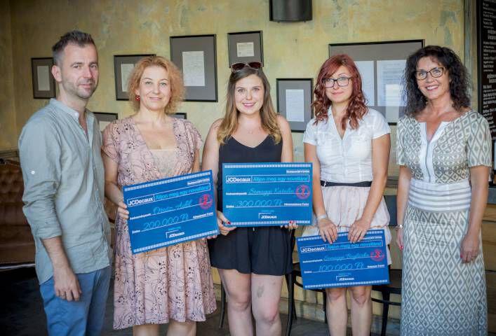 2017 es JCDecaux novella nyertesek