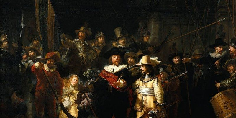 276983 The Nightwatch By Rembrandt