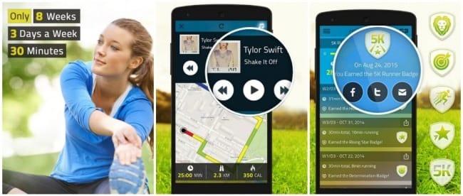 5k run mobilapplikacio