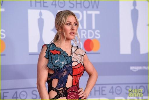 Ellie Goulding brit awards 2020 ruha