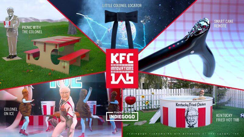 KFC innovations