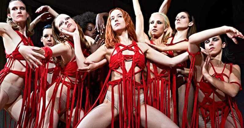 Suspiria Remake Dakota Johnson Photo Blood Ballet
