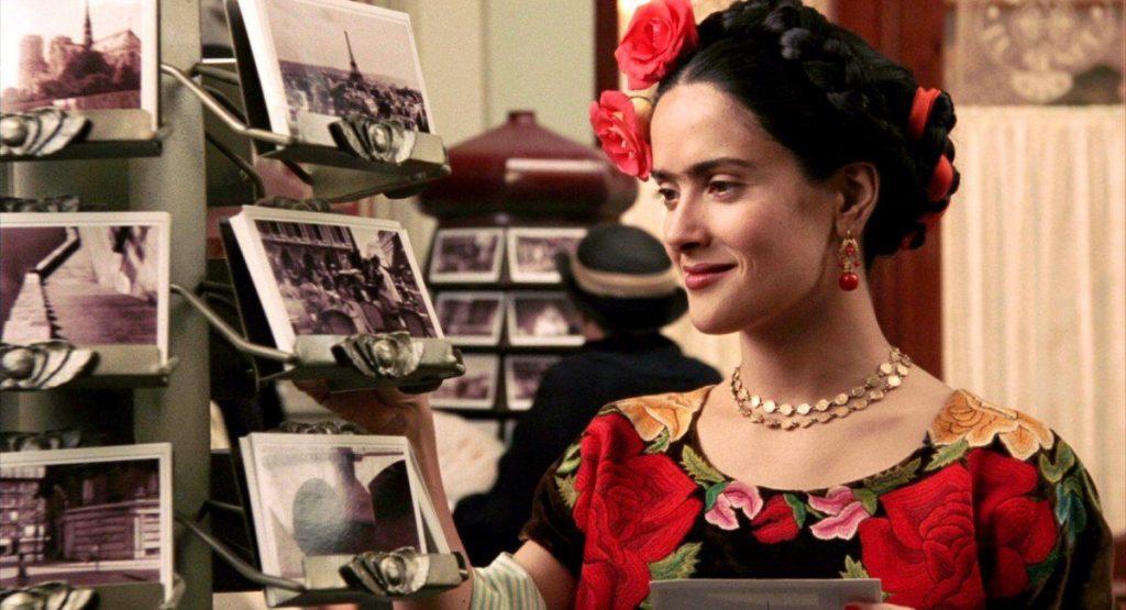 Add Some Embroidery Frida Kahlo Salma Hayek Vicki Archer.2