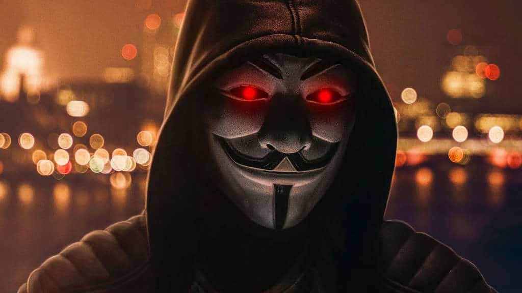 Anonymus Hacker Tiktok