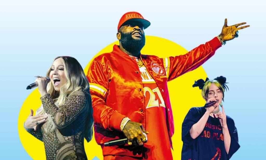 Billie Eilish Mariah Carey Rick Moss Pitbull Enekes Kialtas Levedetes Jogdij
