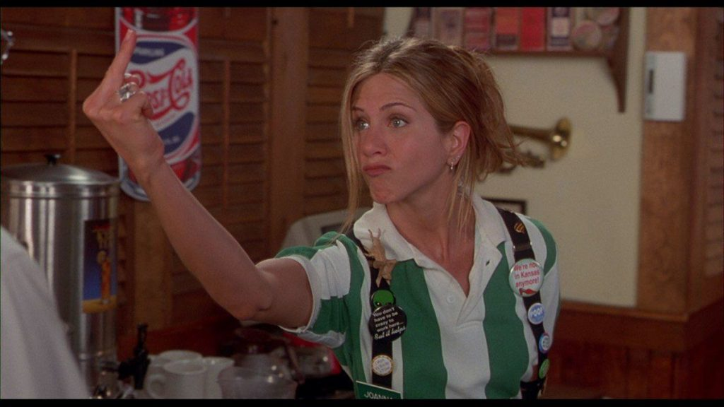 birthday girl jennifer aniston s 10 funniest moments from friends to office space good jennifer aniston office space 1 1670 x 939