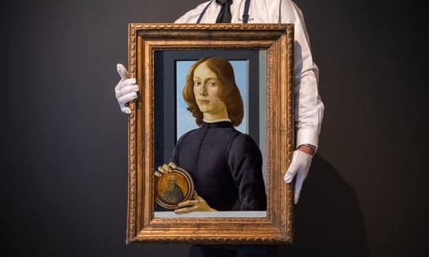 botticelli ifju portre sothebys aukcio